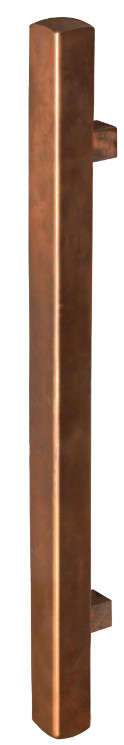 Copper Square Pull Handle